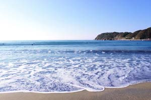 青い海と空の写真
