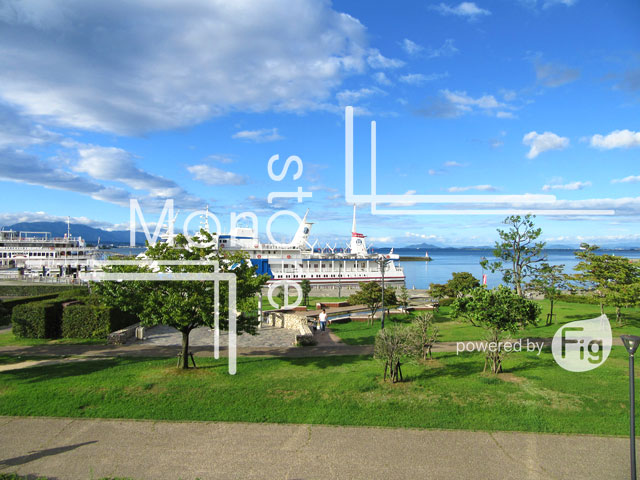 Photograph of Lake Biwa