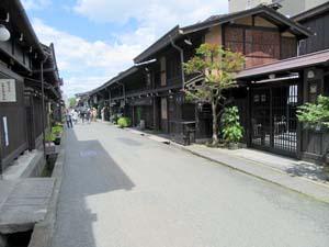 古い町並みの写真
