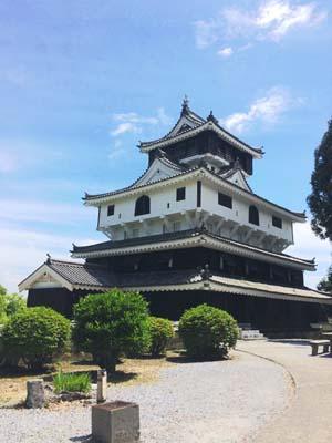 山口県にある岩国城の写真