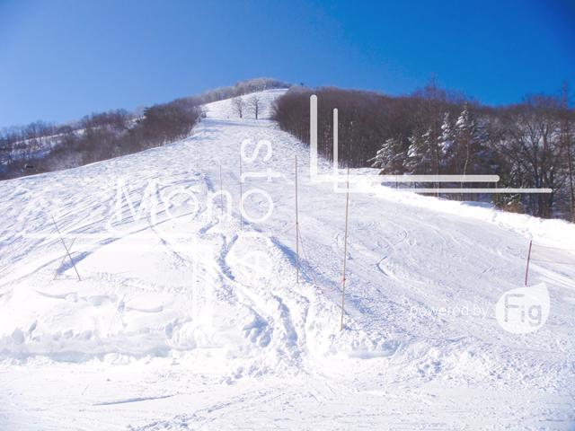 斑尾高原スキー場頂上部の写真